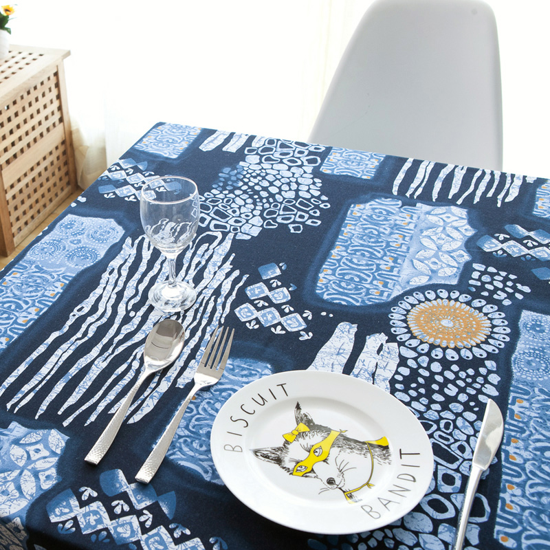 Aliexpress.com : Buy Ancient Chinese Folk Style Blue And White Linen  Tablecloths Fabric Table Cloth Tablecloth Computer Background Cloth From  Reliable Table ...