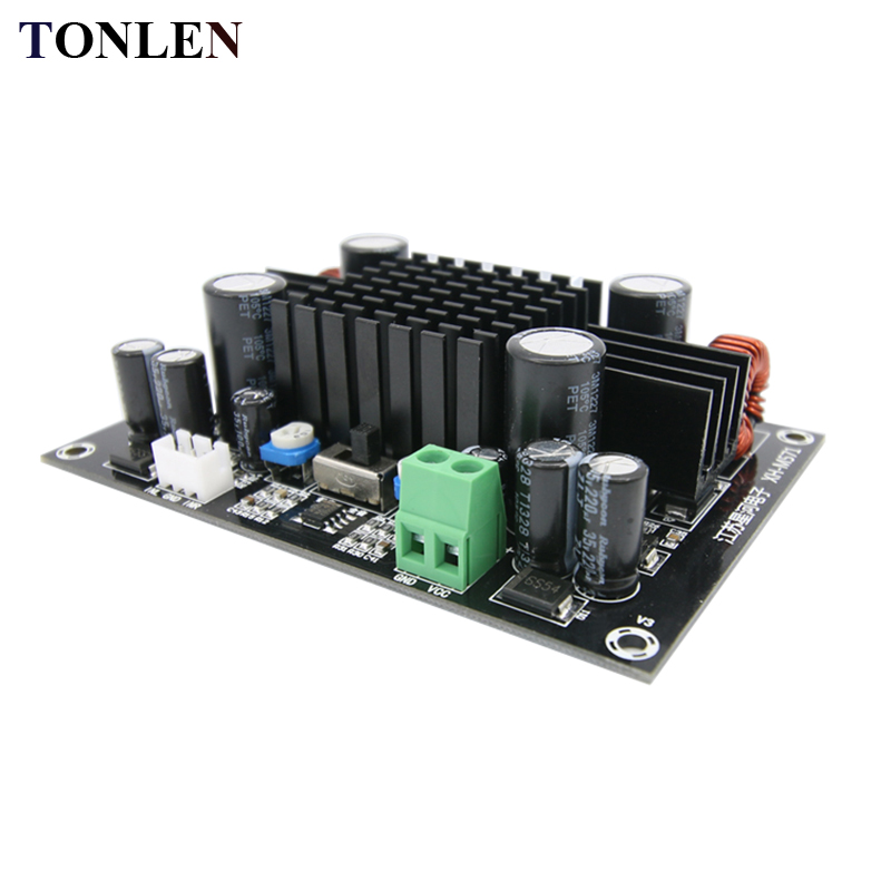 TONLEN Mono Digital Amplifier Board Subwoofer / Full Range Audio Amplifier Module 150W DC12-24V 1.0 DIY Stereo Power Amplifiers сумка rebecca minkoff united states large finn