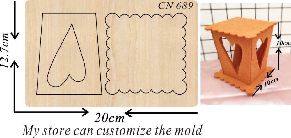 Lantern party decorations 8 new wooden mould cutting dies for scrapbooking Thickness 15 8mm