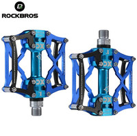 ROCKBROS MTB Road Bicycle Pedal Cycling Pedals Foot Pegs Outdoor Sport Riding Bike Parts Bearing Detachable
