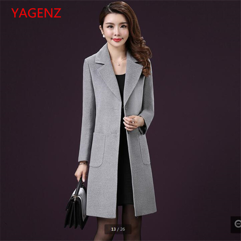 Veste Top Gray Laine Assurance Nouveau Costume Femmes Mode vent De Bn2581 Automne Produit La Tempérament Qualité Manteau Coupe Vêtements 6pUrWw6qcO