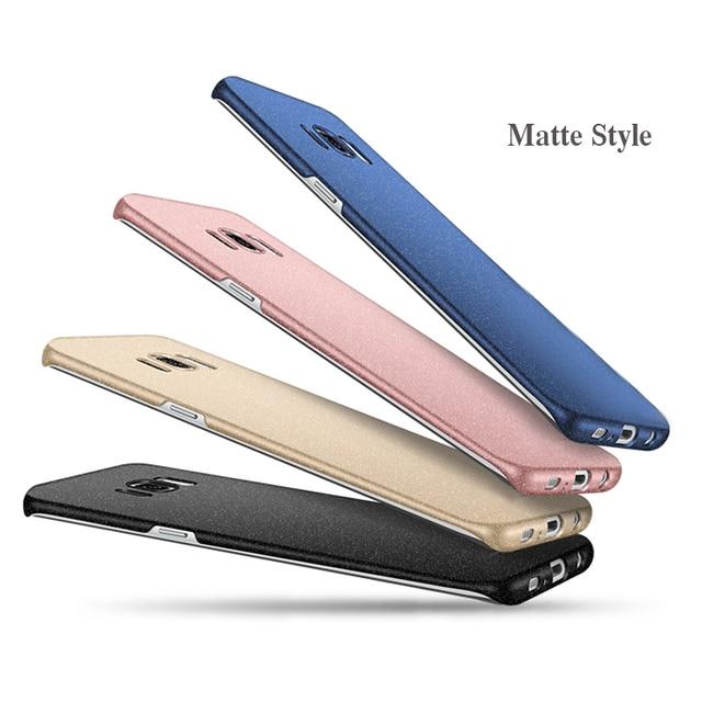 JCDA Brand Shell for Samsung Galaxy S7 edge S8 Plus Note 8 Note5 All Model Matte Hard PC Phone Case Fashion Men Women Shockproof