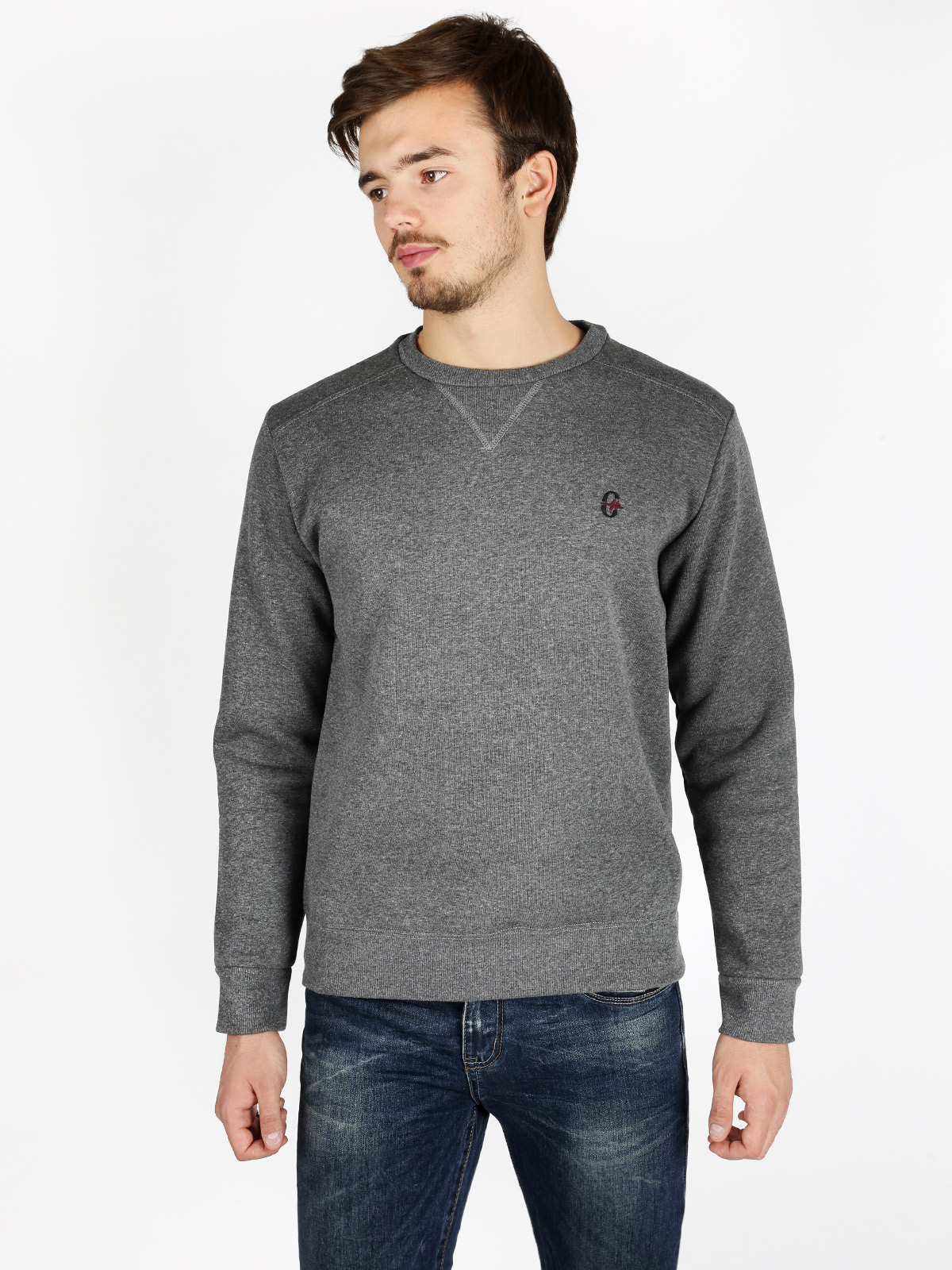 Heavy Sweatshirt Round Neck