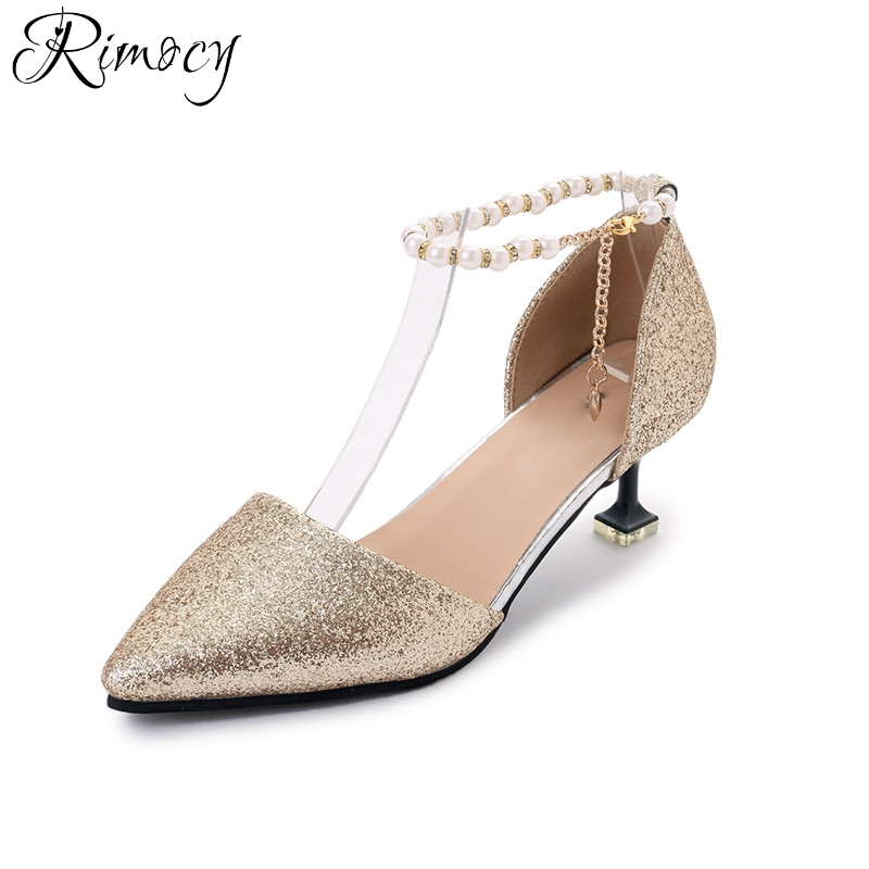 Popular Silver Beaded Pumps-Buy Cheap Silver Beaded Pumps lots ...