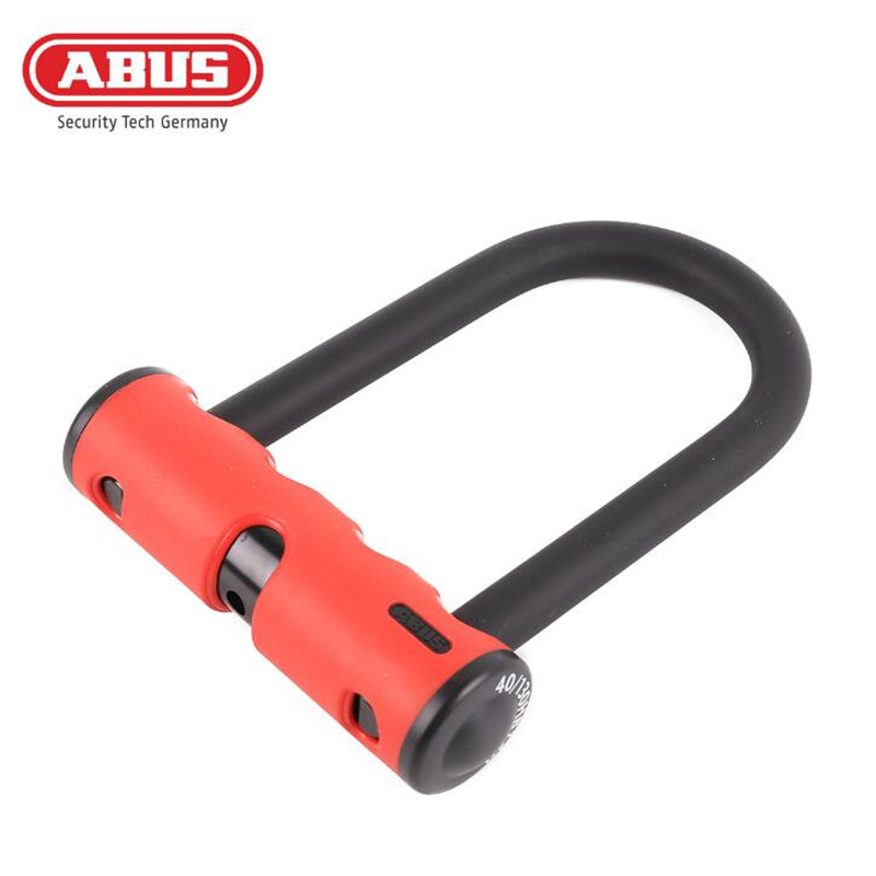 ABUS Bike U Lock Anti Theft Lock Bicycle Mountain Bike Gates Fences Safety Lock 4 Keys Lock Holder Bicycle Accessories Parts goldatom bicycle lock super b u shape crescent lock 1217 2