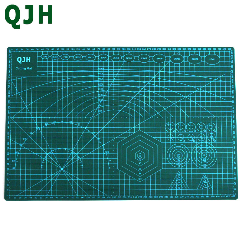 A3 pvc cutting mat double sided self healing cutting board for Cutting mat for crafts