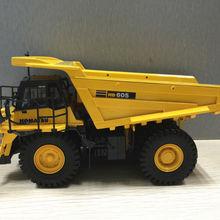 UH8009 1:50 Масштаб Komatsu HD 605 внедорожный грузовик литая Игрушечная модель для украшения, сбора, подарка, без коробки посылка
