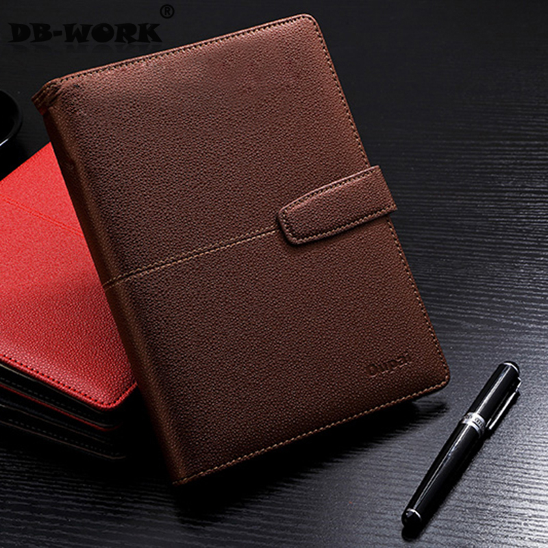 2018 Fshion Office stationery notebook the loose leaf notebook B5 9 hole leather diary sheet clip book page women wellbeing page 9