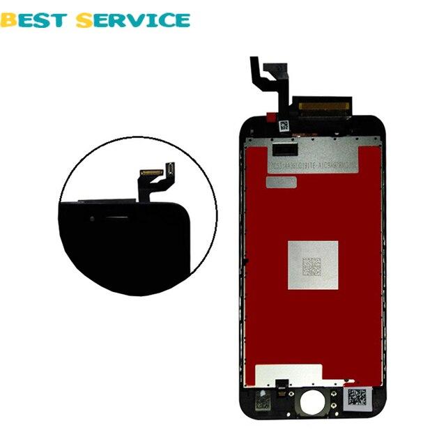 """Grado AAA Nuevo 4.7 """"lcd para iphone 6 s pantalla lcd con la asamblea del digitizador de la pantalla táctil 3d color blanco negro + herramientas gratuitas"""