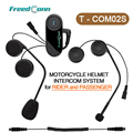 Free Shipping!! New Version Motorcycle Helmet Interphone Bluetooth Helmet Headset for Rider and Passenger Pillion Intercom