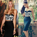 Womens Sexy Bodycon Dress club wear For women 2017 New Strapless Mini Patchwork 2 Piece sets Bandage Celebrity Party Dresses