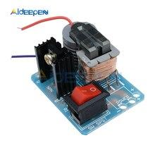 15KV wysokiej częstotliwości DC wysokiego napięcia łuku zapłonu falownik agregatu Boost Step Up 18650 DIY Kit U transformator rdzeniowy Suite 3.7V