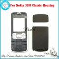 Для Nokia 3109 classic Brandnew Высокое Качество Мобильного Телефона Жилья Передняя Панель + крышка Батарейного Отсека Чехол + Английский/Русский/Арабский клавиатура