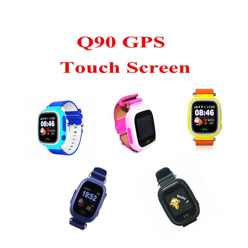 GPS smart watch baby watch Q90 with Wifi touch screen SOS Call Location DeviceTracker fo ...