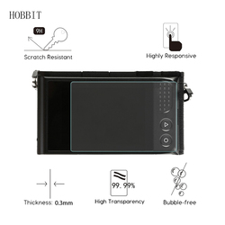 2Pack For Xiaomi Xiaoyi YI M1 / YI 4K Sport Digital Camera 0.3mm 9H Clear Tempered Glass Screen Protector camerea LCD glass Film