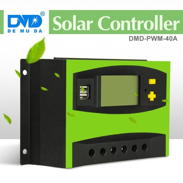 Solarladeregler schaltplan 40a, 12 V 24 V 40A PWM ladegerät regler ...