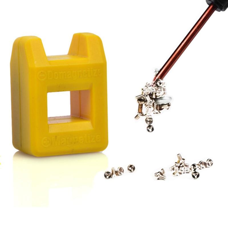 مغناطیسی و دیگهای بیت پیچ گوشتی مغناطیسی سوکت سحر و جادوی میله ای تنظیم شده جعبه میله ای جعبه ابزار فلزی دارنده هد فلزی