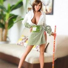 Ailijia 170cm-125 # секс куклы жизнь размеры полный Топ TPE с Секс-кукла со скелетом большая грудь средства ухода за кожей для мужчин Секс игрушки