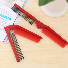 1Pc Hair Comb Handy Women Antistatic Hairbrush Folding Travel Combs Portable Tools Accessories
