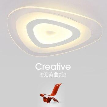 Moderne minimalistische LED plafondlamp restaurant kinderen studie acryl woonkamer slaapkamer lamp