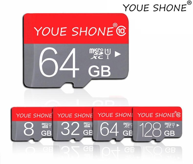 Карта памяти Micro SD карты class 10 флеш-карта памяти TF микро SD 64 ГБ и 128 Гб 32 GB 16 GB 8 GB внешний накопитель флэш-память для телефона