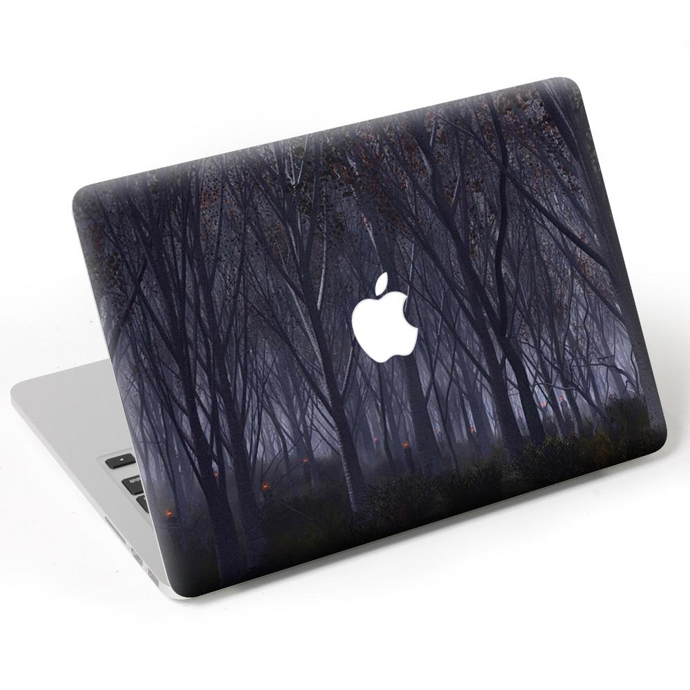 09e8382349eb6 US $6.59 45% OFF|Dark forest Laptop Decal Sticker Skin For MacBook Air Pro  Retina 11