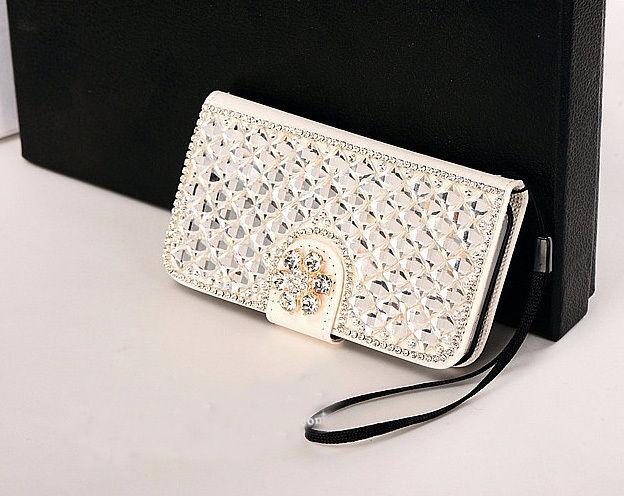 XINGDUO Flower Bling Diamonds Funda de cuero con tapa para iPhone7 / - Accesorios y repuestos para celulares - foto 5