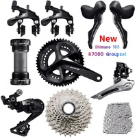 SHIMANO 105 R7000 Groupset R7000 Derailleurs ROAD Bicycle 2x11 speed 50 34 52 36 53 39T 170 172.5MM 12 25,11 28/30/32/34T