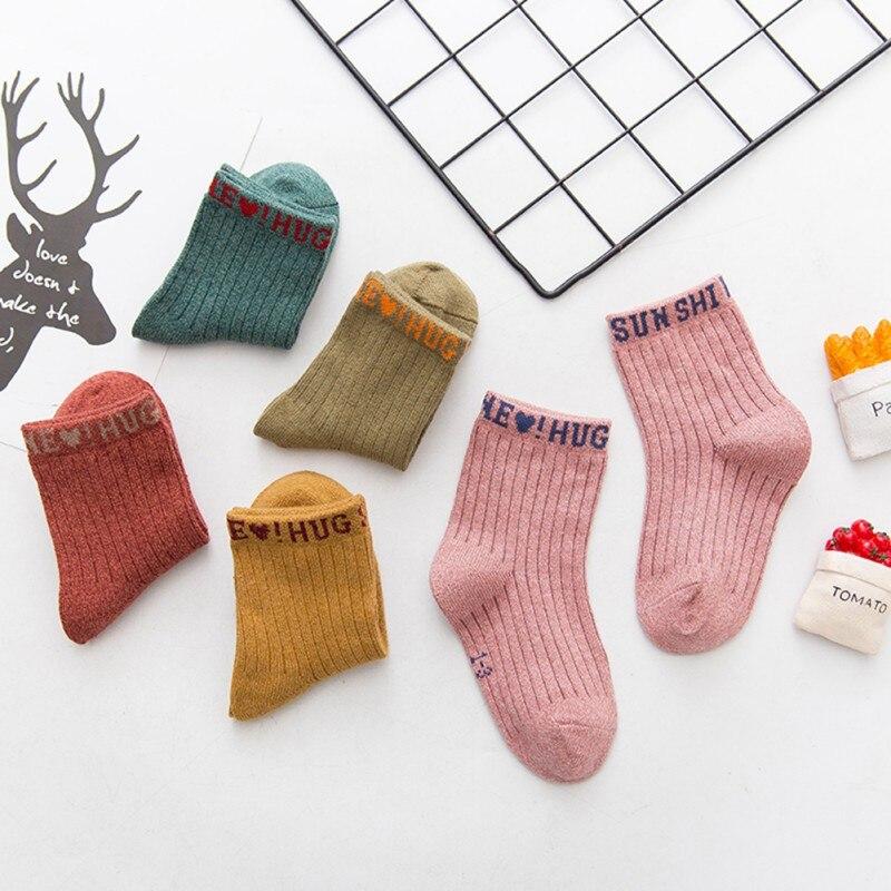 2019 New 5pairs/Lot Kids Socks Cotton Causal Short Socks Solid Children Sock For Baby Girl Boy Kids Sock Hot
