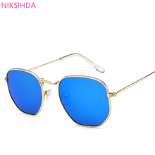 NIKSIHADA Men and women fashion NIKSIHADA2019 hot style sunglasses uv protection uv400 polarized driving