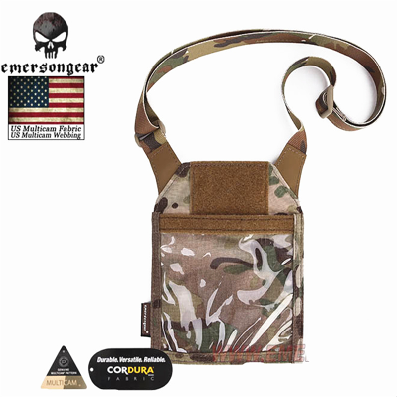 Image 2 - Emersongear Army Fan Tactical ID Card Case Patch Neck Lanyard and Credit Card Organizer ID Card Holder  by Genuine US multicam-in Pouches from Sports & Entertainment