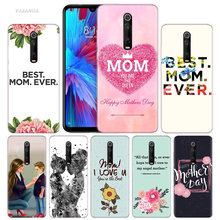 Love Best Mom Case for Xiaomi Redmi Note 7 7S K20 Y3 GO S2 6 6A 7A 5 Pro MI Play 9T A1 A2 8 Lite Poco F1 TPU Baby Cas Phone Bags(China)