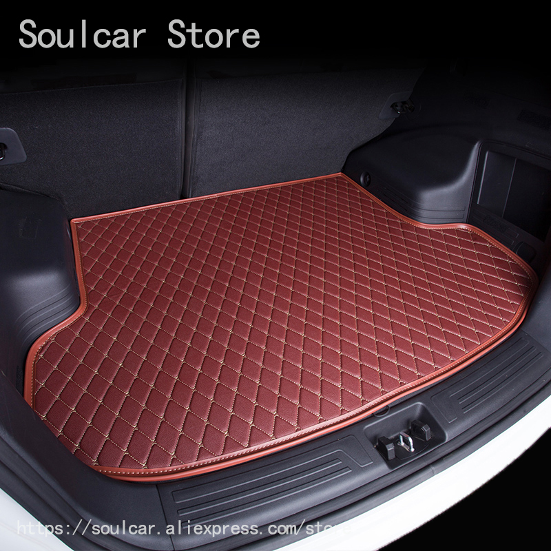 Cargo Liner Trunk Mats for MITSUBISH ASX LANCER EX outlander 2011-2017 BOOT LINER REAR TRUNK CARGO MATS TRAY CARPET