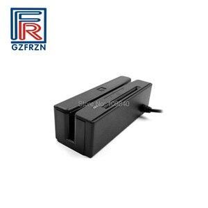 Image 2 - Lecteur à bandes magnétiques 2 en 1 + lecteur de carte à puce IC Contact avec écriture