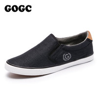 GOGC 2018 New Arrive Men Shoes Comfortable And Breathable Mens Shoes Casual Flat Shoes Slipony Female
