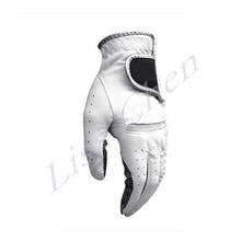New high quality Men s golf gloves sheepskin gloves single breathable slip