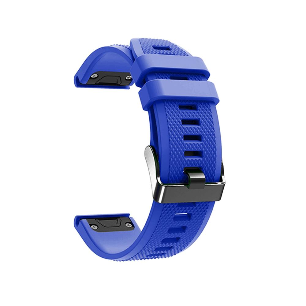 מערכות שמע נייד לביש צפה Easy Fit צמיד עבור Garmin Fenix 5/5 פלוס שחרור מהיר רצועה עבור Garmin Forerunner 935/945/45 / 45s Wriststrap (5)