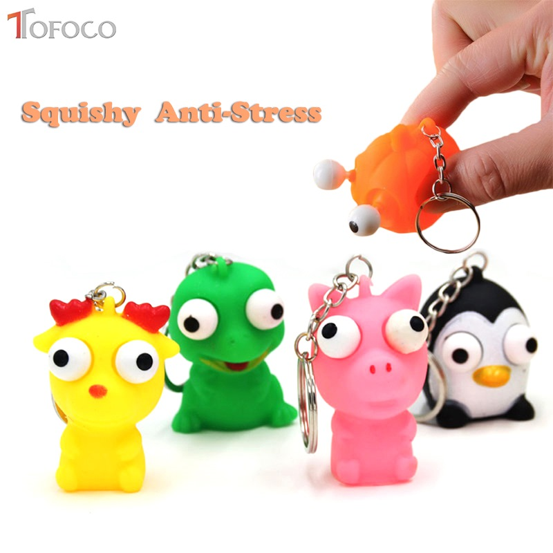 Novelty & Gag Toys Confident Squishy Squish Big Mouth And Big Eyes Strange Slow Rebound Decompression Vent Squishi Children Toys Early Education Anti-stress Latest Technology