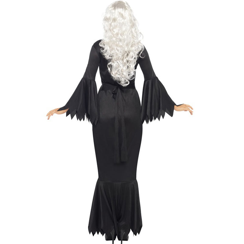 Women Halloween Jumpsuits Costumes Ghost Festival Horror Skeleton Conjoined Gowns Party Sexy Performance Rompers Cosplay Clothes (6)