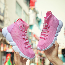 Outdoor Walking Jogging Shoe Adult Women Sneakers 2018 Summer Unisex Lovers Running Sport Shoe  athletic Breathable man footwear