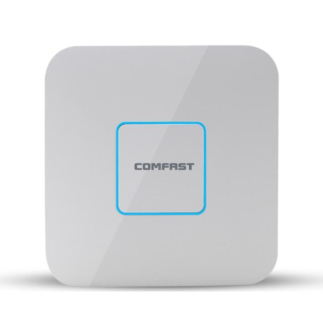 3 ШТ.! 1200 Мбит гигабитный WI-FI маршрутизатор Comfast CF-E355AC Потолочный AP 802.11AC 5.8 Г + 2.4 Г двухдиапазонный ac wi-fi повторителя и Wi-Fi Точки Доступа