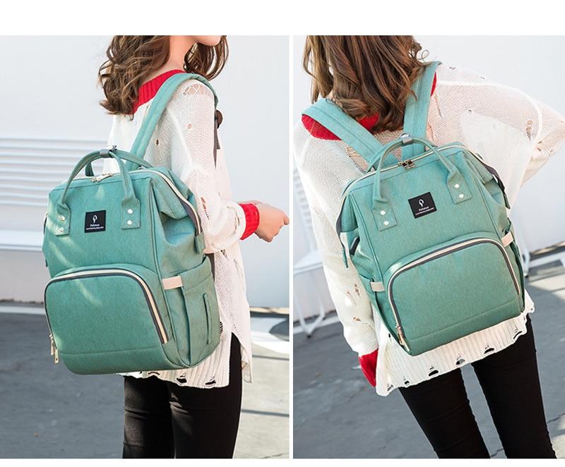 HTB11k odaLN8KJjSZFKq6z7NVXa5 Baby diaper bag mommy stroller bags USB large capacity waterproof nappy bag kits mummy maternity travel backpack nursing handbag