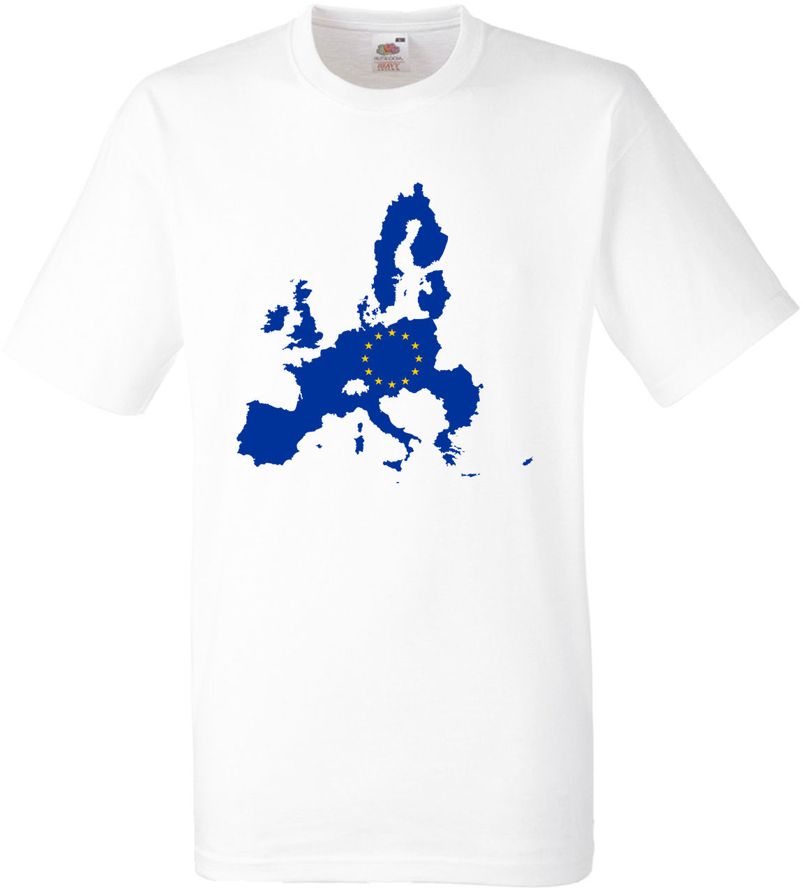 BREXIT T SHIRT FLAG MAP OF EUROPE
