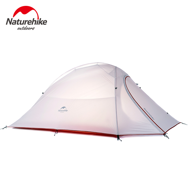 Naturehike CloudUp Series Ultralight Hiking Tent 20D/210T Fabric For 2 Person With Mat
