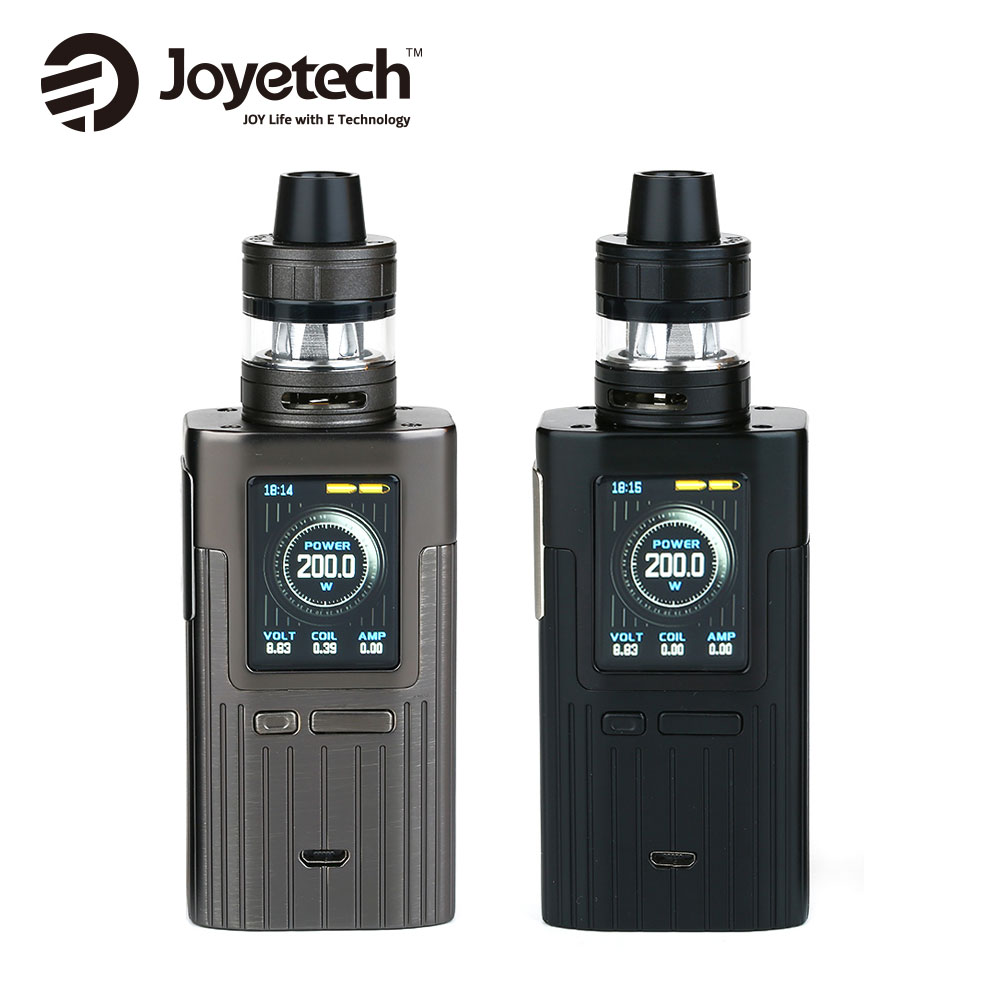 200W Joyetech ESPION TC Vape Kit with Box MOD & 2ml/4.5ml ProCore X Tank Atomizer Powered by Dual 18650 Cell for MTL & DL Vapers original joyetech procore remix tank 2ml 4 5ml rta rda sub ohm atomizer support dual single coil electronic cigarette tank
