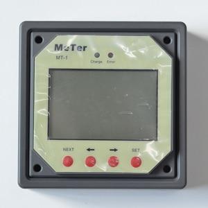 Image 5 - ЖК пульт дистанционного управления для двух аккумуляторов, регулятор заряда на солнечной батарее, регулятор MT 1 с кабелем 10 м, гигантский пульт дистанционного управления
