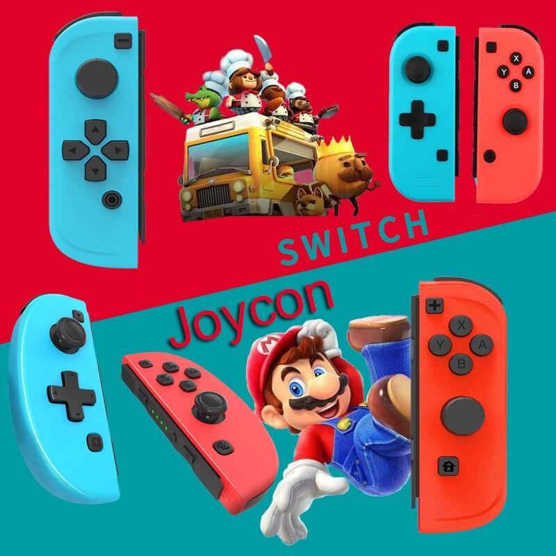1 Set pour Nintendos Switch NS gauche droite Joy-con L R manette de jeu manette de remplacement coque personnalisée Joycon avec sangle