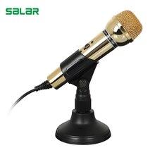 Salar DM099 Мобильный Микрофон Профессиональный Микрофон для Записи Видео Караоке Радио Студийный Микрофон для Компьютера ПК