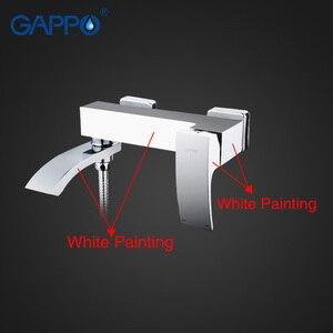 Image 2 - GAPPO bath rain shower faucet Bathtub Faucet  tap wall bathroom shower tap bath sink faucet water mixer sink tap shower system