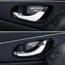 Автомобильный стиль, нержавеющая сталь, дверная ручка, чаша, крышка, наклейки, отделка, подходит для X-trail, Xtrail T32, для Rogue-, автомобильные аксессуары